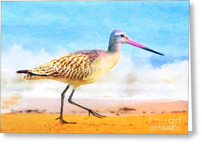 Sand Between My Toes ... Greeting Card