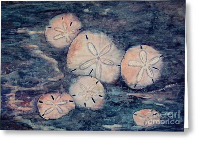 Sand Dollars Greeting Card