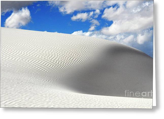 Sand Dune Magic 2 Greeting Card by Bob Christopher