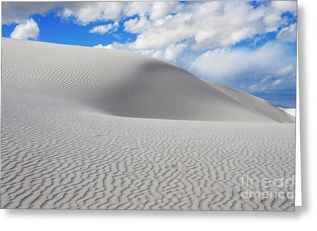 Sand Dune Magic 3 Greeting Card by Bob Christopher
