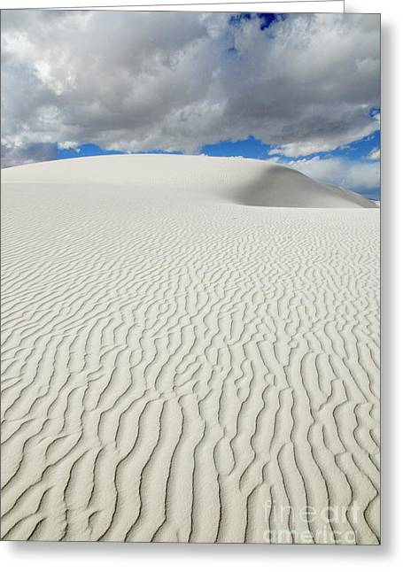 Sand Dune Magic 4 Greeting Card by Bob Christopher