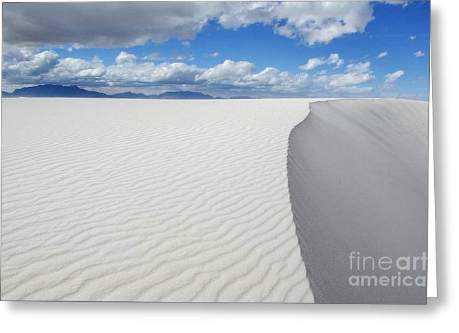 Sand Dune Magic 5 Greeting Card by Bob Christopher