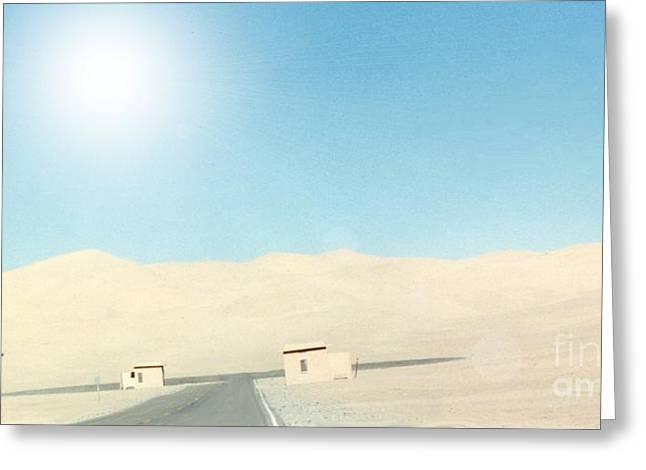 Sand Dune Surreal Greeting Card