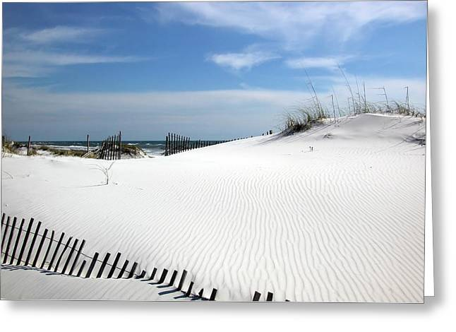 Sand Dunes Dream Greeting Card by Marie Hicks