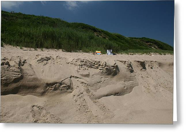 Sand Dunes II Greeting Card by Jeff Porter
