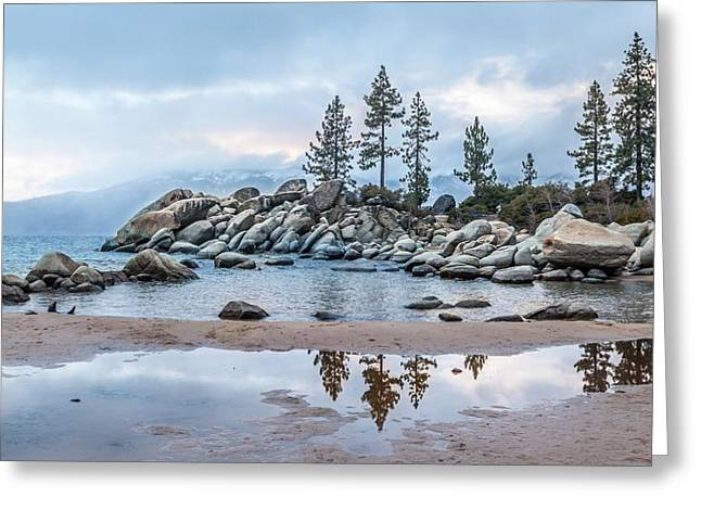 Greeting Card featuring the photograph Sand Harbor by Charles Garcia