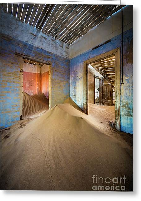 Sand On The Floor Greeting Card