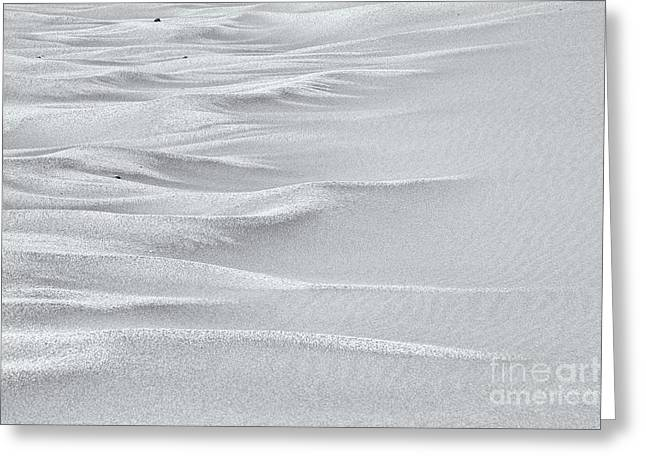 Sand Sea - High Key Greeting Card by Hideaki Sakurai