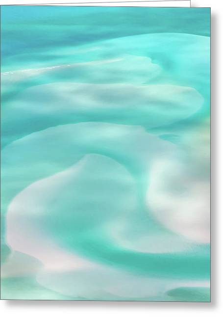 Sand Swirls Greeting Card by Az Jackson