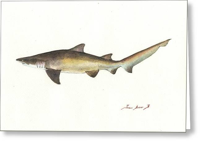 Sand Tiger Shark Greeting Card