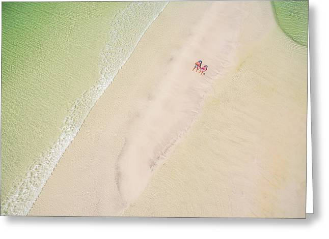 Sandbar Time Greeting Card