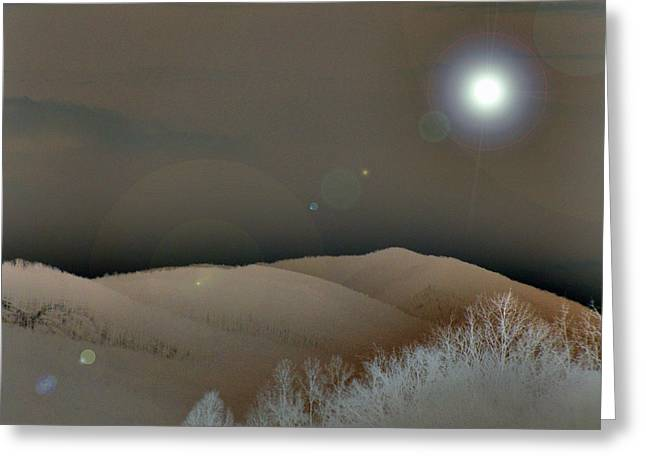 Sandcast Dunes Greeting Card