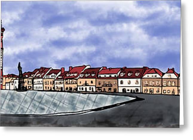 Sandomierz City Greeting Card