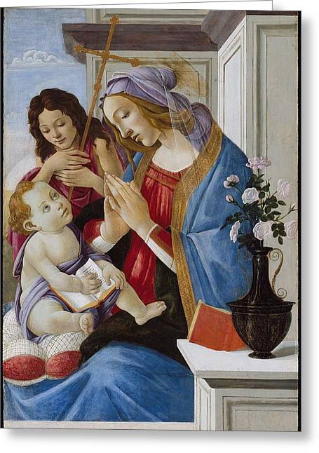 Sandro Botticelli  Greeting Card