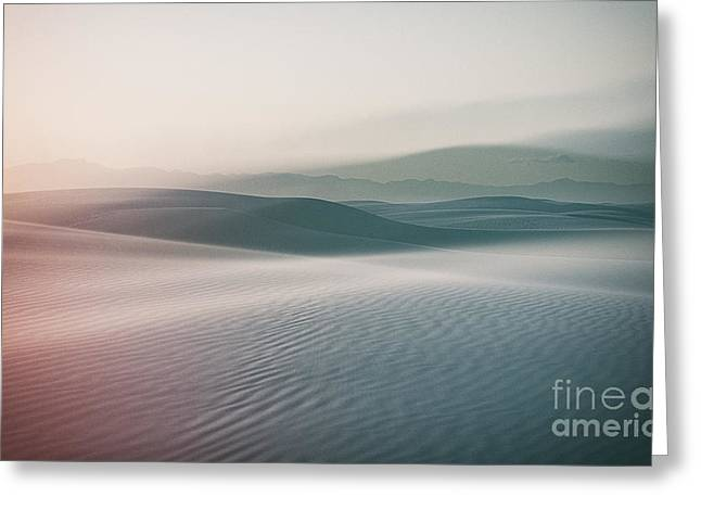 Sands Sunset Greeting Card