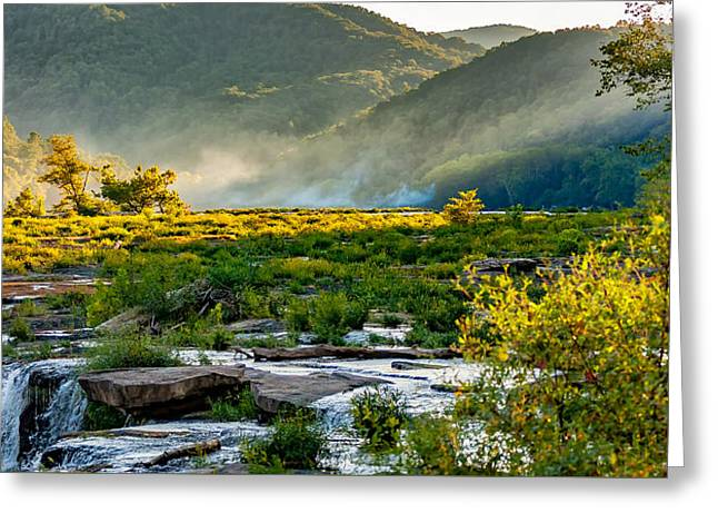 Sandstone Falls West Virginia Greeting Card by Steve Harrington