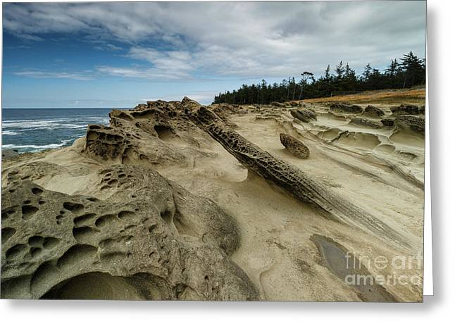 Sandstone Formations Greeting Card