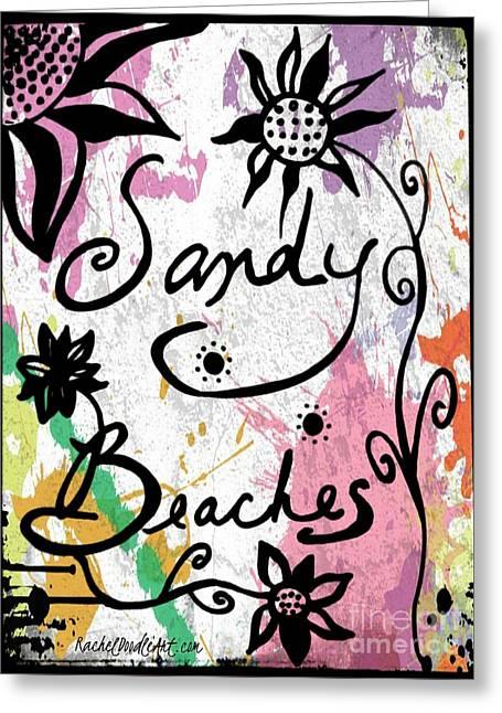 Sandy Beaches Greeting Card