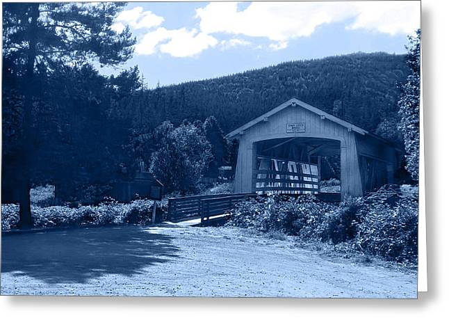 Sandy Creek Covered Bridge Greeting Card