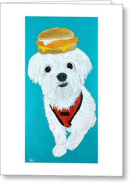 Sandy - Filet O Fish Greeting Card