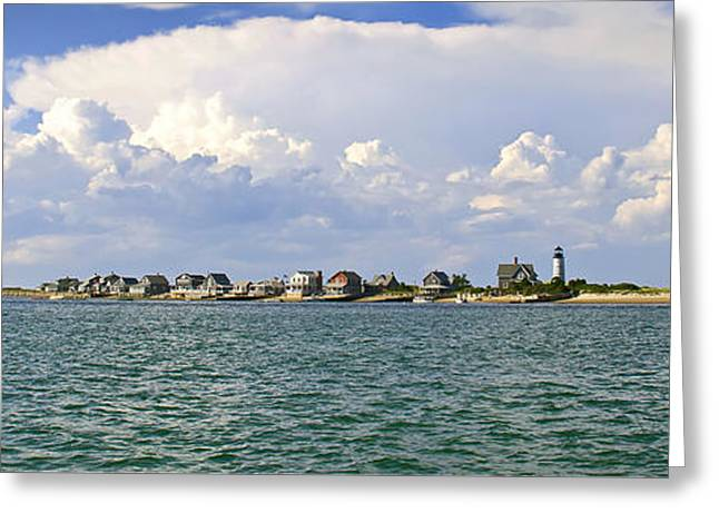 Sandy Neck Cottage Colony Greeting Card