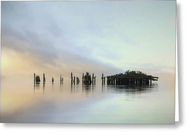 Sandy Point Reflections Greeting Card