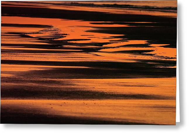 Sandy Reflection Greeting Card