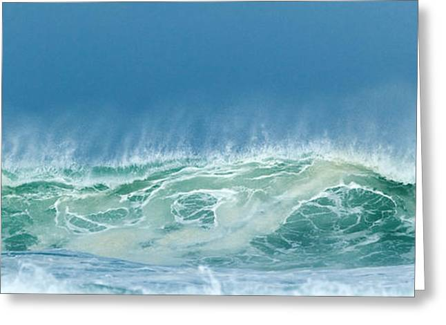 Sandy Wave Greeting Card
