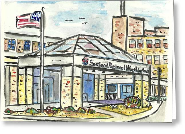 Sanford Regional Worthington Greeting Card
