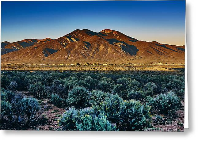 Sangre De Cristo Xxx Greeting Card by Charles Muhle