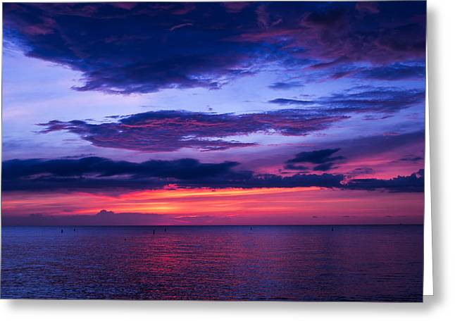 Sanibel Sunset Greeting Card