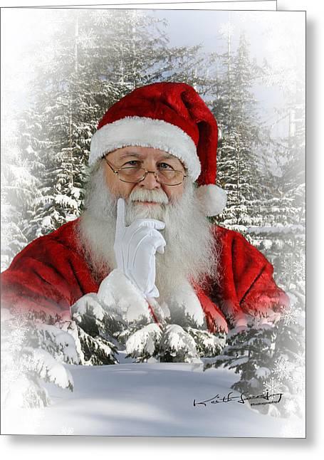 Santa 1 Greeting Card