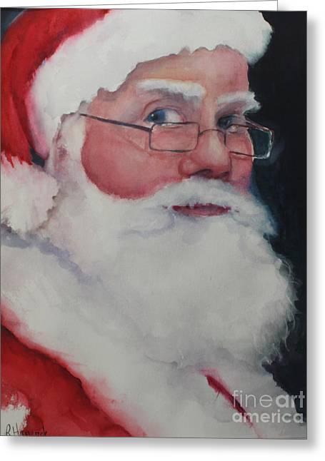 Naughty Or Nice ? Santa 2016 Greeting Card