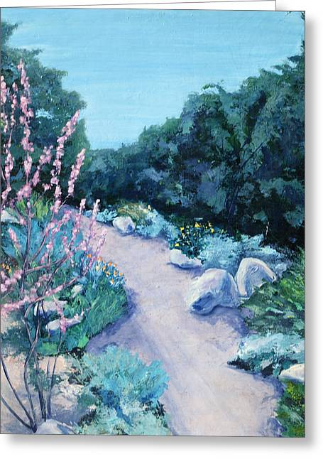 Santa Barbara Botanical Gardens Greeting Card by M Schaefer