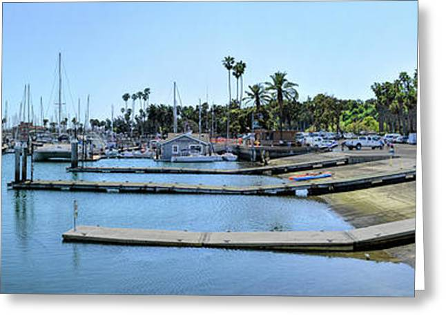 Santa Barbara Marina Greeting Card
