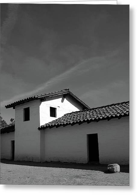 Santa Barbara Presidio 2- Photograph By Linda Woods Greeting Card