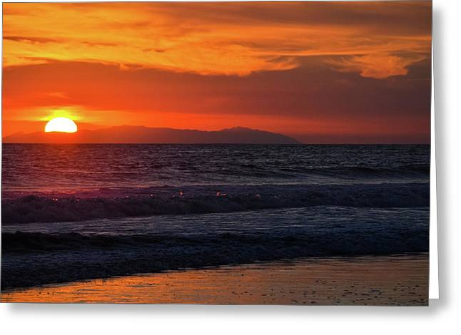 Santa Catalina Island Sunset Greeting Card
