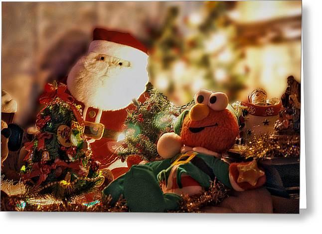 Santa Claus 01 Greeting Card by Thomas Woolworth