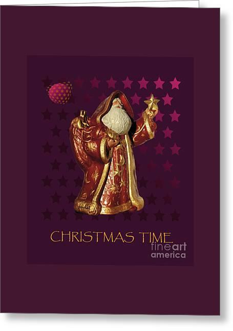 Santa Claus M6 Greeting Card