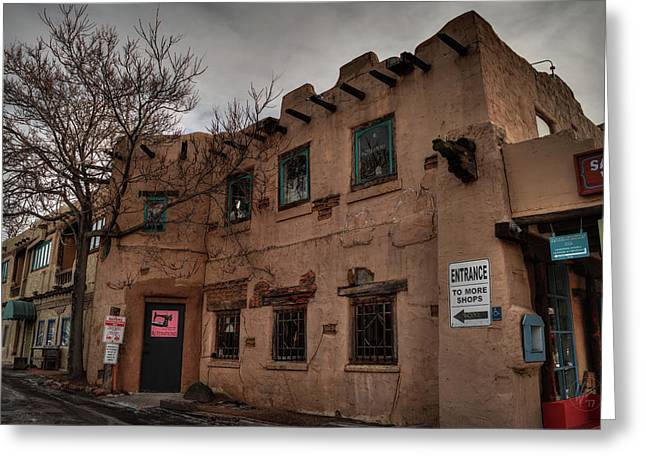 Greeting Card featuring the photograph Santa Fe 001 by Lance Vaughn