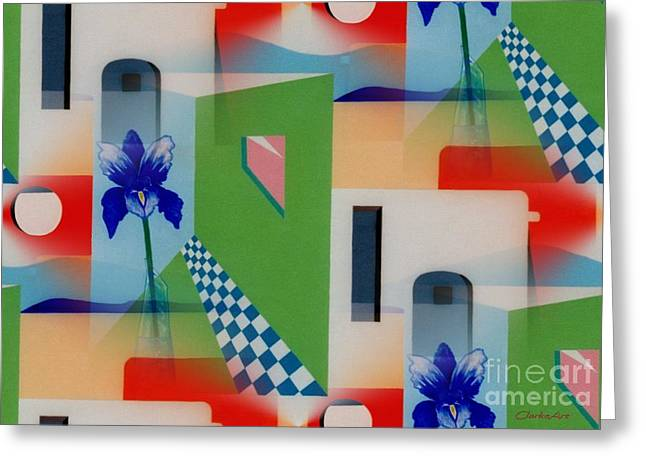 Santa Fe Adobe - #1 Greeting Card