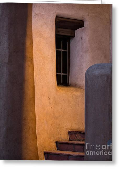 Santa Fe Steps Greeting Card