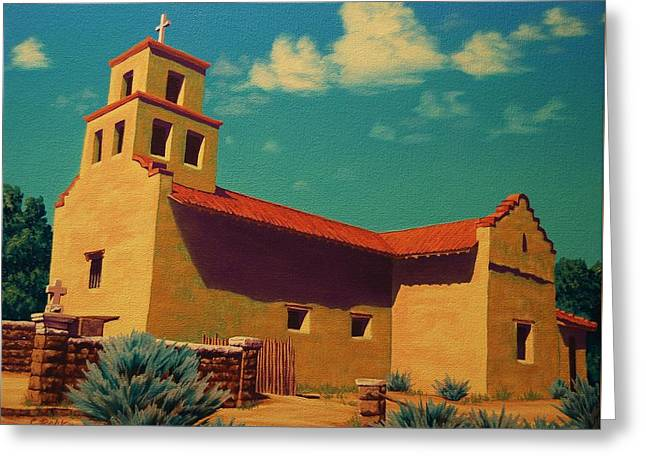 Santa Fe Tradition Greeting Card