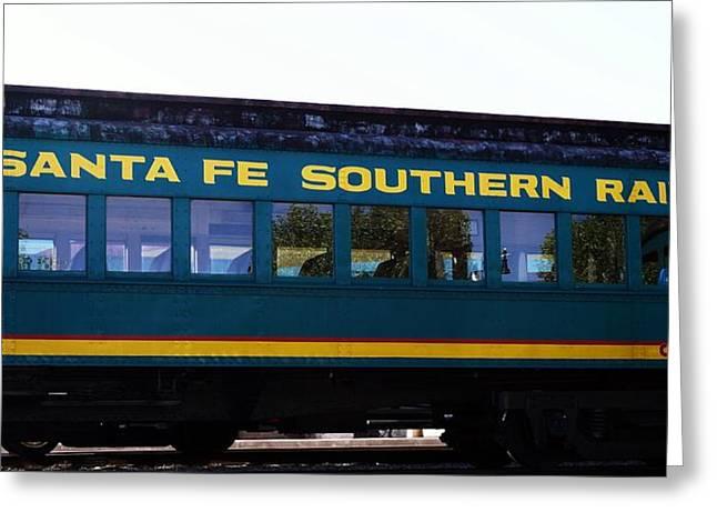 Santa Fe Train Greeting Card