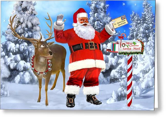 Santa Got Your Letter Greeting Card