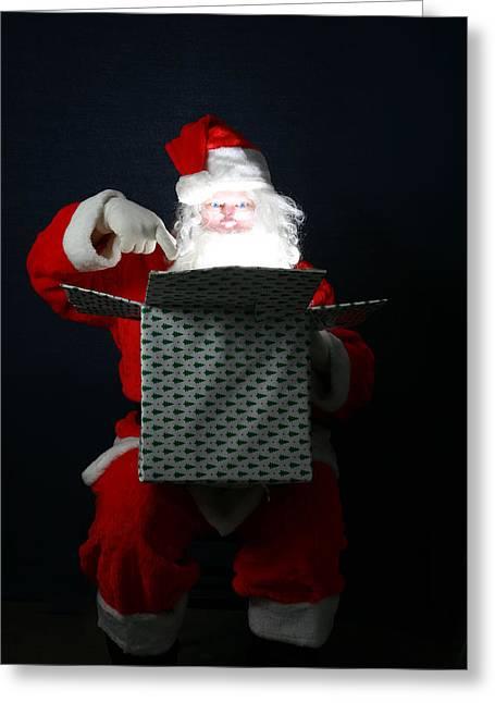 Santa Has Christmas Magic For All Greeting Card