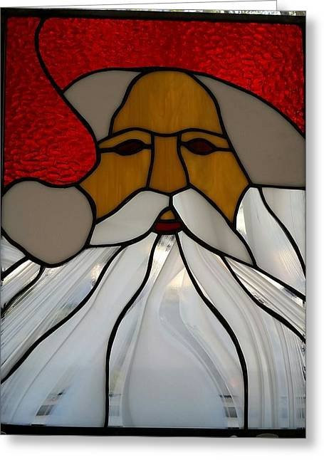 Santa Greeting Card
