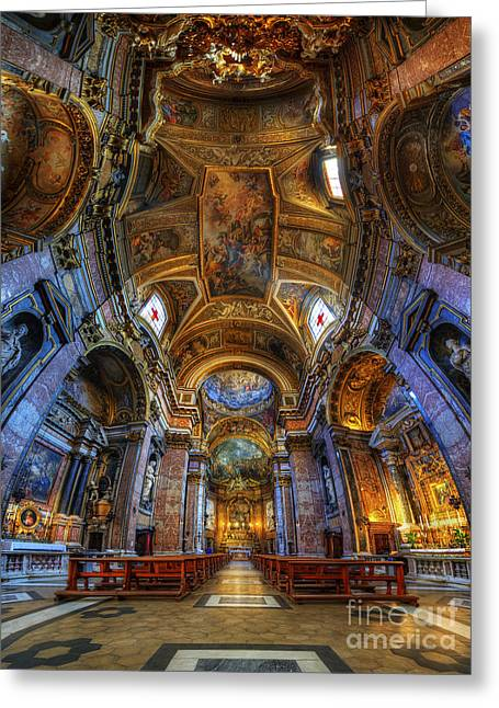 Santa Maria Maddalena Greeting Card