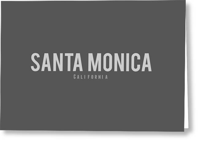 Santa Monica California Greeting Card