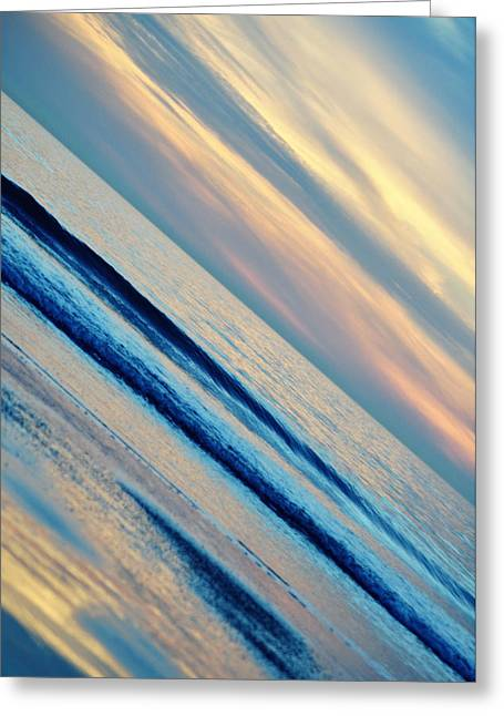Greeting Card featuring the photograph Santa Monica Sunset by Kyle Hanson